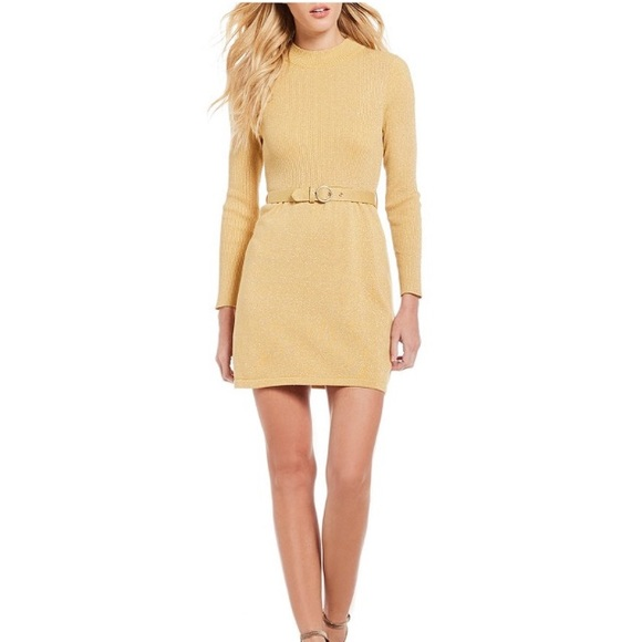 c109ff0ad90 Free People French Girl Mock Neck Sweater Dress M